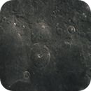 Craters Theophilus and Cyrillus along the coast of Mare Nectaris,                                Kharan