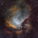 Sharpless 112 in Hubble Palette,                                Ian Gorin