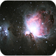 M42, the Great Nebula in Orion,                                 degrbi
