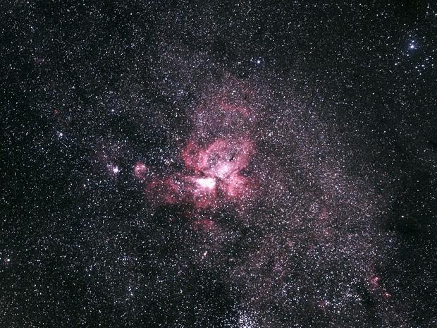 Eta Carinae Nebula,                                Hideki