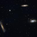 Leo Triplet (M65, M66, NGC 3628) OSC,                                Daniel