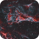 Veil Nebula - Pickering's Triangle - HOO,                                Phil Brewer