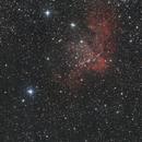 Ngc 7380, The Wizard Nebula,                                Vlaams59