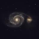 Messier 51: Whirlpool Galaxy,                                Brian Dwyer