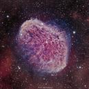 NGC 6888 Crescent Nebula in HOO,                                Girish