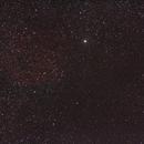 Simeis 147 (Versuchs- RGB von der Balkonsternwarte) - stark gestreched,                                astrobrandy