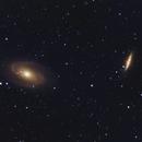 M81 and M82 LRGB Crop,                                Brian Leshin