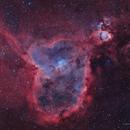Ic 1805-nébuleuse du coeur et du poisson HOO,                                astromat89