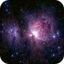 Orion and Running Man nebulae,                                Boommutt