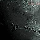 Cratere Eratostene e catena montuosa,                                Sandro