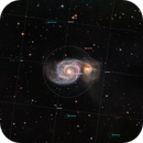 The Whirlpool Galaxy (Messier 51),                                Luca Marinelli