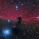 IC434 - Horsehead Nebula,                                Jerry Hulm