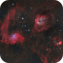 IC405, IC410,                                Ola Skarpen SkyEyE