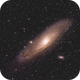 M31 Andromeda Galaxy Re-processed,                                Slice1969