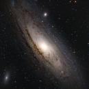 M31 Andromeda Galaxie,                                Fabian