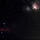 Horse and Orion Nebulae,                                Nikolay Vdovin