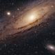 Andromeda Galaxy M31,                                Crash-dk