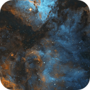 Eta Carinae Nebula Processing Experiment,                                Tom Peter AKA Ast...