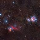 Orion complex (M42, IC434, M78),                                Artūras Medvedevas