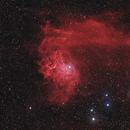 IC 405, Flaming Star Nebula HaRGB,                                mihai