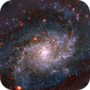 M 33, Triangulum Galaxy,                                w4sm