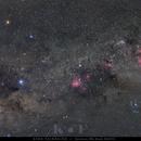 Southern Cross Eta Carinae & Lambda Centauri,                                Carlos 'Kiko' Fai...