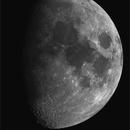 2016-03-17 Gibbous Moon,                                Sébastien LUCAS