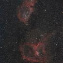 IC 1805/1848 - Heart & Soul Nebulae,                                Claus Steindl