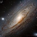 Galassia di Andromeda M31,                                Emanuele Patassini