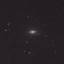 M104 - Sombrero Galaxy,                                Mike Hislope