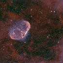 Crescent Nebula,                                mistateo