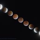 21st January 2019 total lunar eclipse,                                Vincent Bchm