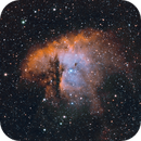 Pacman Nebula,                                Matthew Enrietta