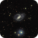 NGC 1097 A public data pool created by rmuhlack (305 x 10mins @ ISO1600),                                Gianluca Belgrado