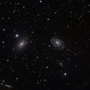 NGC 5363 & NGC 5317 in the constellation Virgo.,                                Mark Sansom