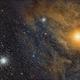 Antares, and globulars M4 and NGC 6144.,                                morrienz