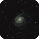 M101 in LHaRGB,                                Gordon Haynes