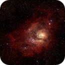 Lagoon Nebula M8,                                Wissam Ayoub