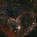 Heart Nebula. IC 1805,                                Brian Beamer