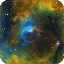 Bubble Nebula,                                Roland Christen