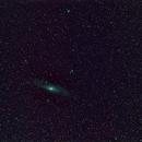 Andromeda Galaxie M31,                                mwalbiner
