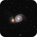 M51 Galaxy - First LRGB experience,                                Antonio Sibilla