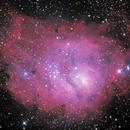 M8 - Lagoon Nebula,                                Marcelo Alves