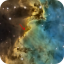 Crepuscular rays??  Monkey head nebula inset..,                                Dan Wilson