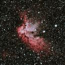 NGC7380: The Wizard Nebula (HOO) (2019),                                Daniel Tackley