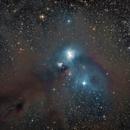 NGC 6729 Corona Australis in LRGB,                                Carlos Taylor