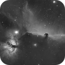 B33 / Pferdekopfnebel und NGC 2024 / Flammennebel in H alpha,                                Arne Krack