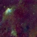 NGC 7380, the Wizard Nebula Area, SHO,                                Stephen Garretson