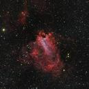 M 17 Omega Nebula,                                diurnal