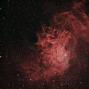 IC 405 The Flaming Star Nebula,                                Matt Dugas